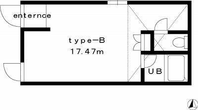 【家具付き賃貸】NEST(ネスト) 2-B