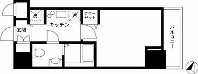 【家具付き賃貸】グランド・ガーラ西麻布 611