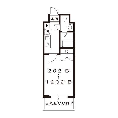 【家具付き賃貸】スカイコート浜松町壱番館 1202