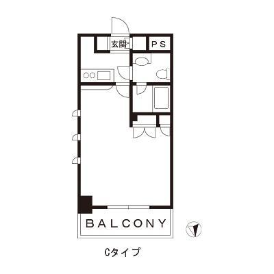 【家具付き賃貸】スカイコート浜松町壱番館 1302