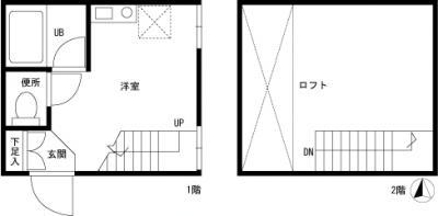 【家具付き賃貸】NEST(ネスト) C
