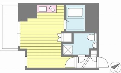 【家具付き賃貸】スカイコート三田慶大前壱番館 1001