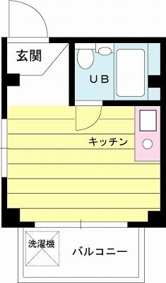 【家具付き賃貸】シティ御苑ビルB棟 402