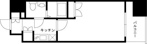 【家具付き賃貸】ヴィーダスカイコート品川 812
