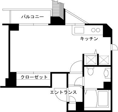 【家具付き賃貸】ガラステージ五反田 1102