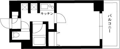 【家具付き賃貸】スカイコート大森第6 504