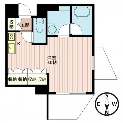 エスティメゾン北新宿 406