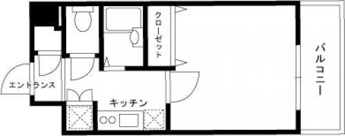 【家具付き賃貸】スカイコートヴィーダ五反田WEST 711