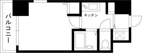 【家具付き賃貸】スカイコート大森第5 706