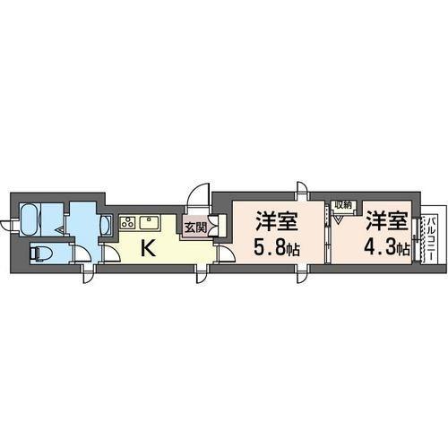 PRO BUN'S 千川(プロバーンズ千川) 202